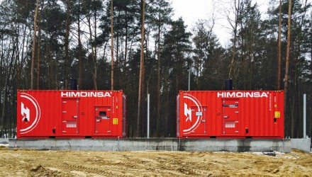 Stand-by power at JBB meat company in Poland