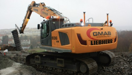 Göteborgs Gräv & Maskin AB chooses Liebherr excavators for their exceptional operator comfort