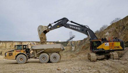 Volvo EC750E crawler excavator makes Eastern European debut