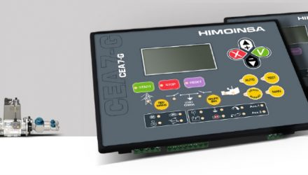 HIMOINSA develops control units for gas-powered generator sets