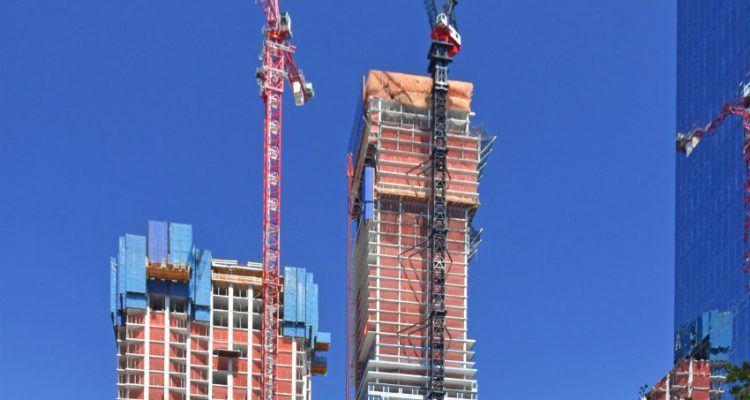ULMA takes part in the construction project of the Harborside Tower in New Jersey