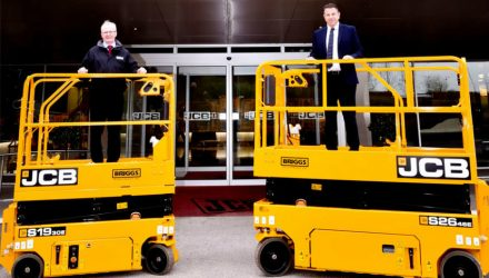 Briggs boosts short term rental fleet with JCB scissor lifts
