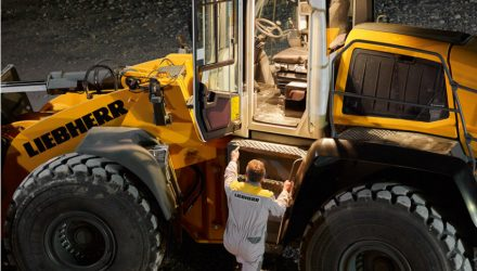 New lighting options for Liebherr XPower wheel loaders