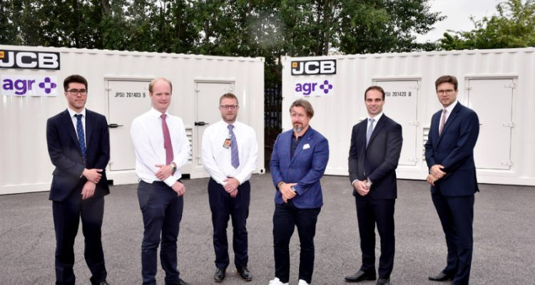 JCB secures £10 million deal for gas powered generators