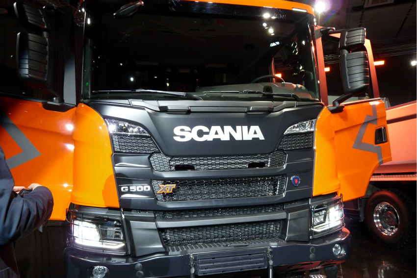 Tunnel & Infrastructures Euro 6 engines introduced into Scania's new