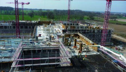 Schaumburg Clinic construction project undertaken by ULMA