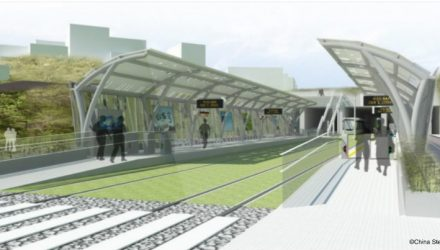 Ankeng Light Rail Transit (LRT) project in Taiwan