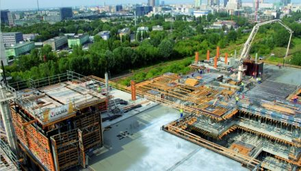 ULMA on the construction project of EuroCentrum Complex in Poland