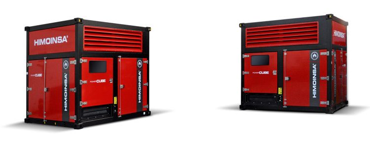New HIMOINSA Power Cube generator sets with FPT engines
