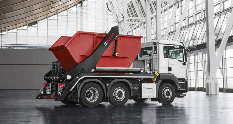 Hiab introduces the new MULTILIFT Futura 18 skiploader