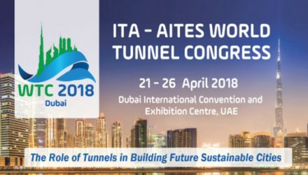 ITA-AITES World Tunnel Congress 2018 registration is open