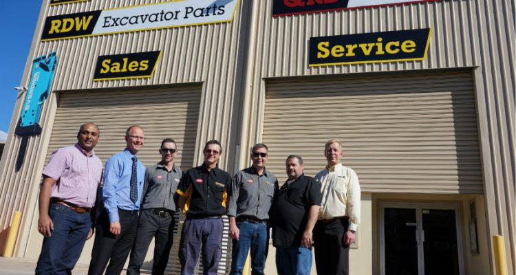 Qld Rock Breakers division of RD Williams: new distributor for ALLU