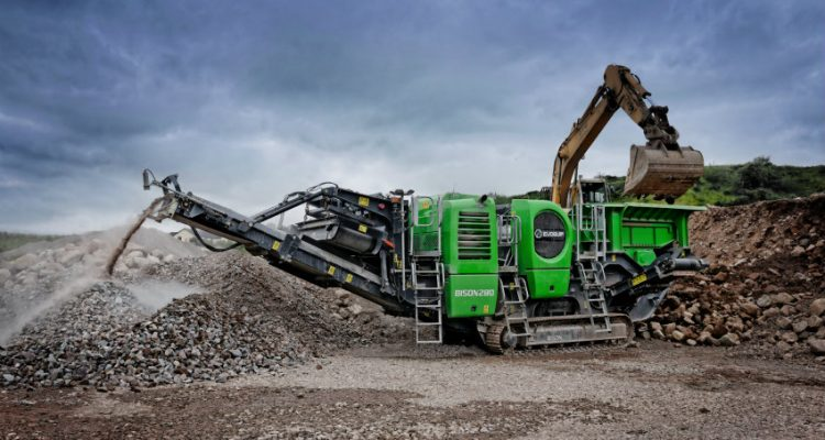 EvoQuip launches the Bison 280 Jaw Crusher: compact with impact