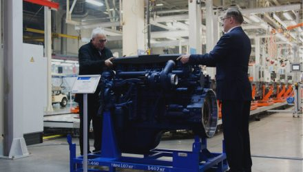 Liebherr and KAMAZ start production of new diesel engines