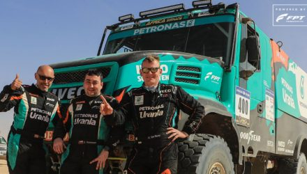 FPT Industrial equips the Team Petronas De Rooy IVECO for the first place at Africa Eco Race 2018