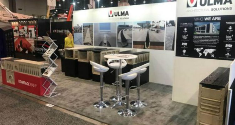 ULMA Drainage Systems at the WORLD OF CONCRETE 2018