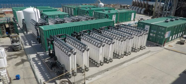 ACCIONA builds the largest desalination plant for industrial use in the Mediterranean, in Sardinia (Italy)
