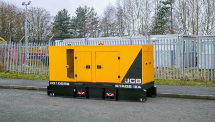 JCB generators for the power generation rental market