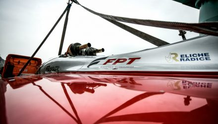 FPT Industrial engine in the diesel Powerboat Guinness World Speed Record