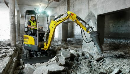 Wacker Neuson unveils first battery-powered, Zero Tail mini excavator: EZ17e