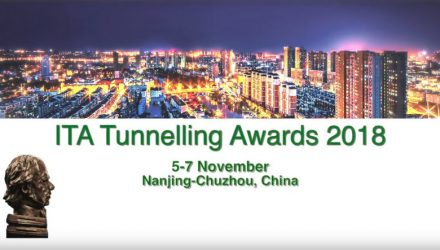 ITA TUNNELLING AWARDS 2018: 5-7 November 2018 in Chuzhou-Nanjing
