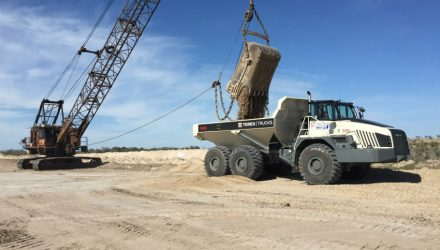 B-C Equipment Sales, new dealer for Terex Trucks in Texas