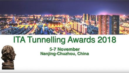 ITA Tunnelling Awards 2018 in Chuzhou – A few days left to submit entries
