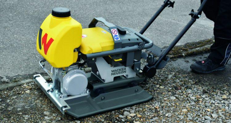 Wacker Neuson presents battery-powered vibratory plate AP1850e