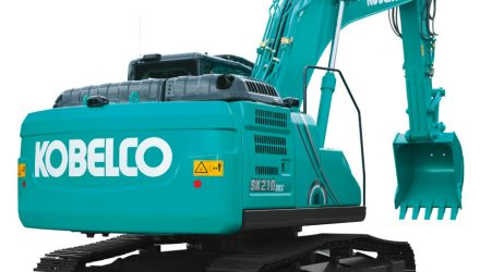 Kobelco launches super-narrow SK210SNLC-10 for the Alpine region