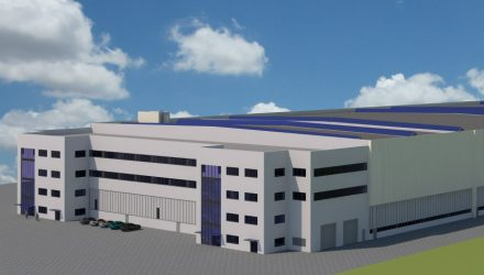 Liebherr develops a new logistics center for production in Kirchdorf