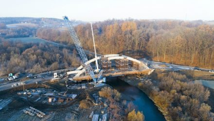 Liebherr Cranes with one mission: Lifting Operation in the Tatra Mountains