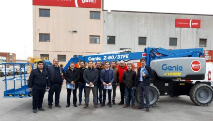 GAM receives big Genie Z-60/37 FE hybrid boom delivery