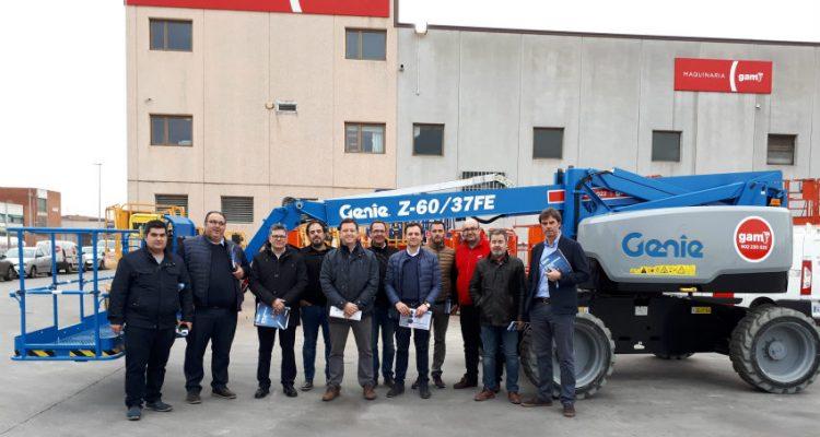 GAM receives big Genie Z-60/37 FE hybrid boom delivery