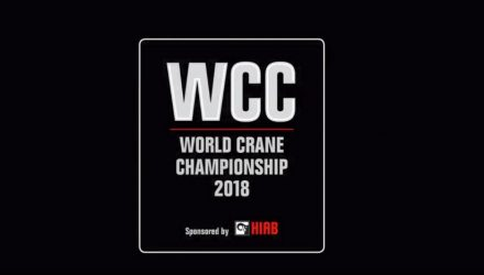 Hiab geared up for the 2018 World Crane Championship