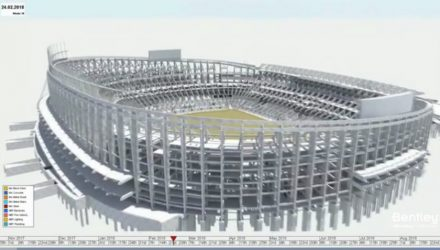 Bentley presents Synchro Software Solution for FC Barcelona Stadium Project at Microsoft Inspire Conference