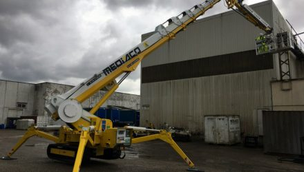 Mediaco chooses Palazzani and goes high with a Spider Lift XTJ 52