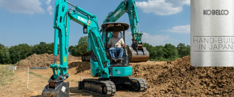 Tunnel & Infrastructures Kobelco to showcase smaller