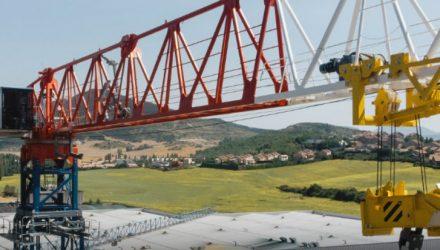 Comansa launches the new 21LC1050 flat-top crane
