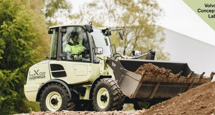 Volvo CE unveils electric compact wheel loader concept