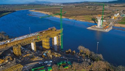 ULMA Construction takes part in the construction of New Ross bridge