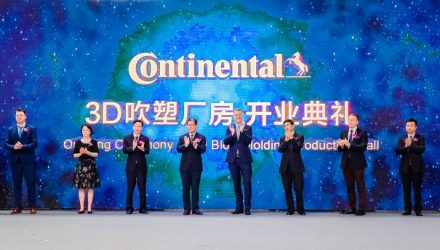Continental invests in a new 3D blow molding plant in Changshu, China