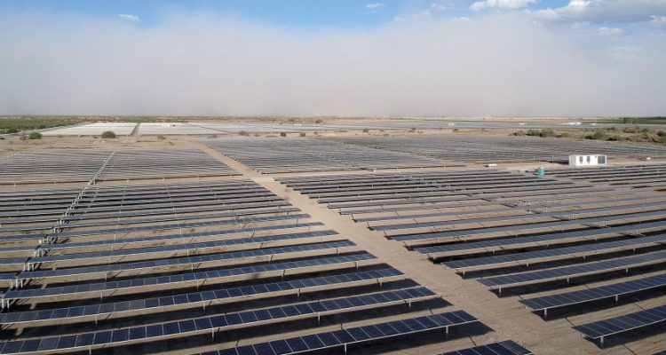 Axone trackers installed at La Laguna PV plant in Mexico