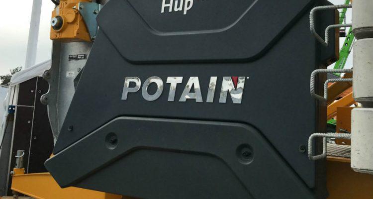 Potain showcased its Hup and Igo self-erecting cranes at ARTIBAT 2018