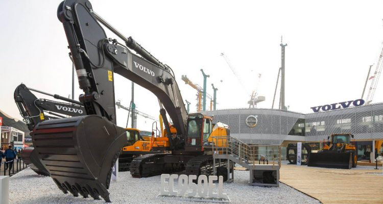 Volvo showcases portfolio for sustainable infrastructure at bauma China