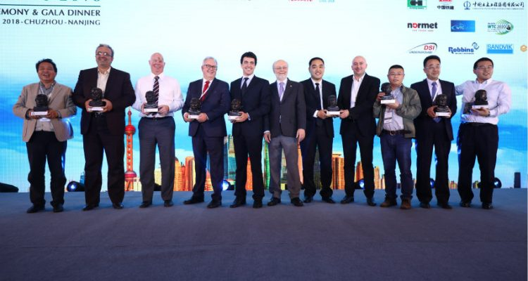 Winners of 4th edition of the ITA Tunnelling Awards