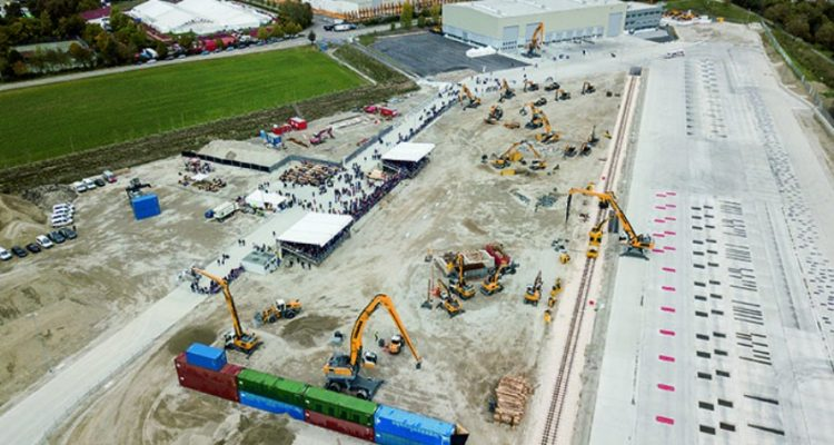 Liebherr opens its new development and demonstration centre in Kirchdorf