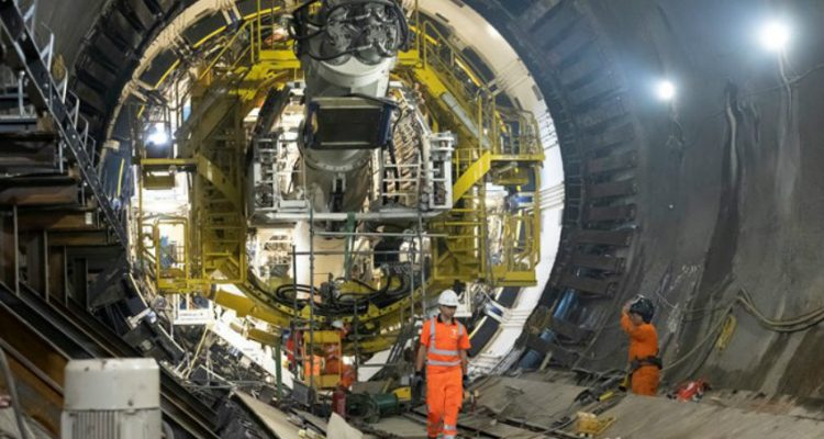 Super sewer machine starts work as first-of-its-kind tunnelling apprenticeships launched in UK