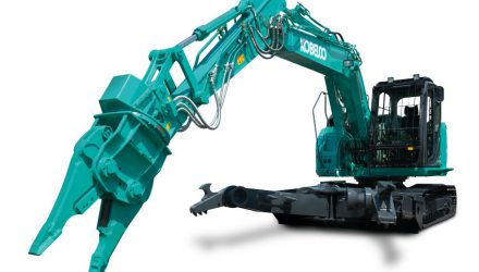 Kobelco strengthens its demolition and vehicle dismantling range with the SK140SRD