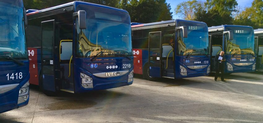 IVECO BUS delivers 61 Crossway to the transportation company ARST