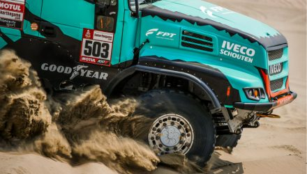FPT Industrial Cursor 13 engines is the heart of the 2019 Dakar